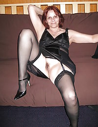 free maid in lingerie and nylon